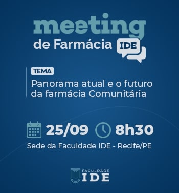 Meeting de Farmácia - Panorama atual e o futuro da farmácia comunitária